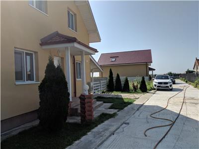 12 km de Bucuresti,GULIA sat,vile lux P+M,5 camere 160 mp,teren 340 mp