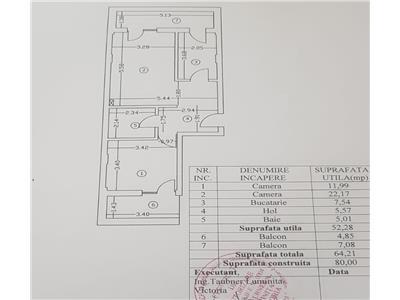 Apartament 2 cam decomandat et 2 colentina cu fundeni comision 0%