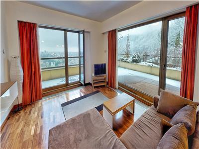 2 camere - bellevue  - mobilat si utilat lux, 87 mp utili + 97 terasa