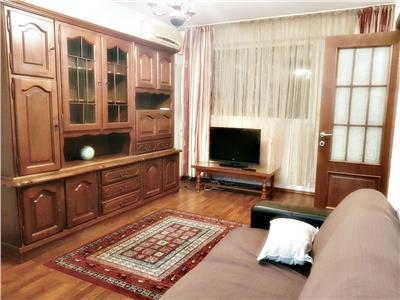 Apartament 3 camere, mobilat si utilat, cu parcare, Plaza Romania