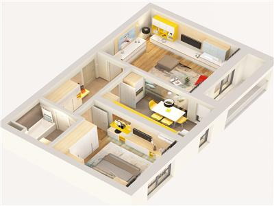 Apartament 2 camere decomandat 21 Residence