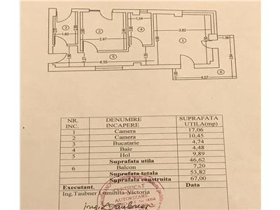 Apartament 2 camere decomandat et 1 metrou jiului 2 minute
