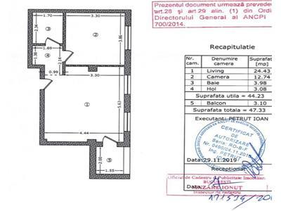 Apartament 2 camere et 1 Damaroaia Izbiceni