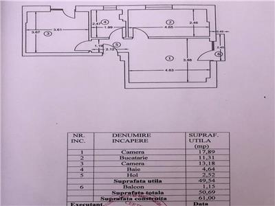 Apartament 2 camere et 2 din 3 Sos Chitilei Pod Constanta