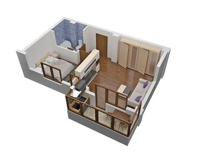 Apartament 2 camere in Militari Residence, Totul nou, Lux