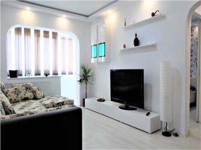 Apartament 2 camere Lux de inchiriat zona Mega Mall