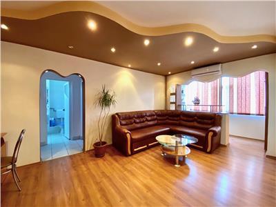 Apartament 2 camere, spatios, complet mobilat, vest, ploiesti