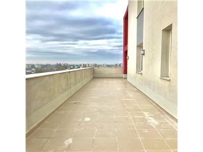 Apartament 2 camere, terasa 80 mp, bloc 2010, zona nord, ploiesti