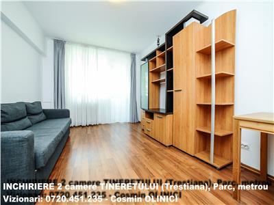 Apartament 2 camere TINERETULUI, vav Parc, 5 min. metrou, Ctr. ANAF