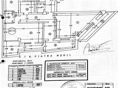Apartament 3 camere 133 mp utili damaroaia natatiei