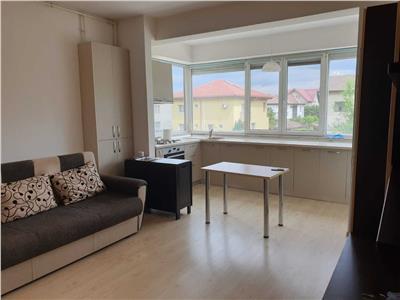 Apartament 3 camere decomandat cu centrala, parcare Popesti Leordeni