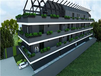 Apartament 3 camere,decomandat, gradina proprie, zona Titan, Vitioara