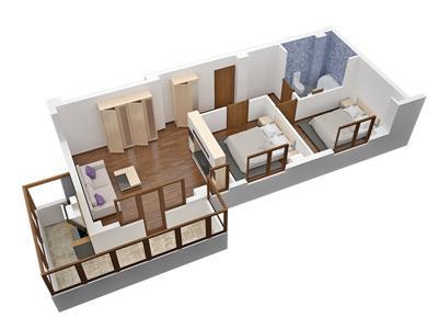 Apartament 3 camere in militari residence, totul nou, lux