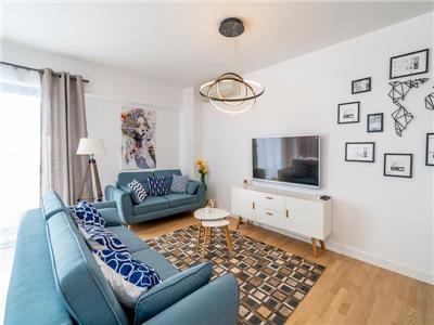 Apartament 3 camere cu 2 locuri parcare si boxa in complex upground