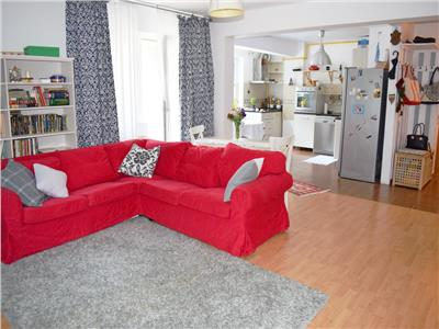 Apartament 3 camere, la cheie.Greenfield,terasa, loc de parcare,padure