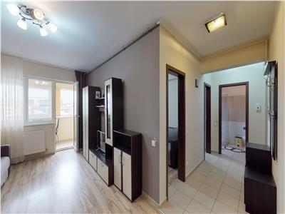 Apartament 3 camere mobilat si utilat - METROU