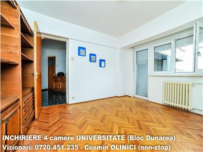 Apartament 4 camere UNIVERSITATE - Bloc Dunarea