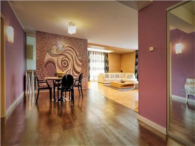 Apartament 4 camere Herastrau - Mobilat - 2 Locuri Parcare Subterane