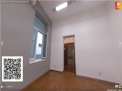 Apartament 4 camere,zona Universitate-Capsa KM 0