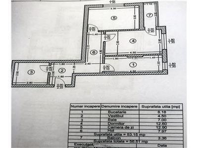 Apartament cu 2 camere de vanzare in Chiajna - Apeductului