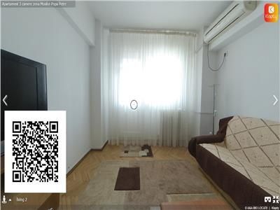 Apartament cu 3 camere,zona Mosilor-Eminescu