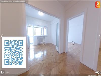 Apartament cu 4 camere,zona Carol-Biserica Armeneasca