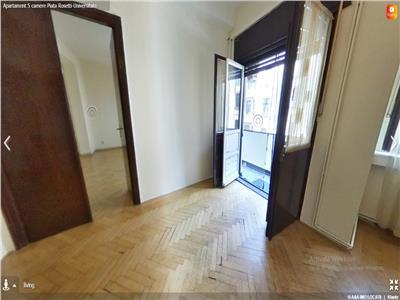 Apartament cu 5 camere,zona Universitate-Piata Rosetti