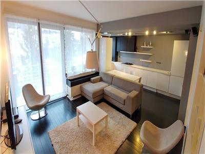 Apartament penthouse de inchiriat lux 3 camere 120 mp tudor