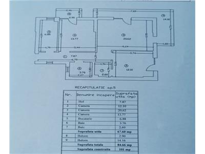 Apartament decomandat 3 camere 2 bai Sos Chitilei Mezes