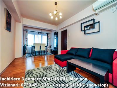 Apartament superb Penthouse complet mobilat si utilat - Splaiul Unirii