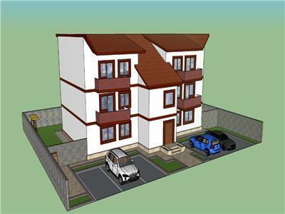 Apartament tractorul-coresi la parter cu curte proprie