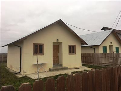 Casa de lemn, 49 mp utili,250mp de teren,Tartasesti,30 km de Bucuresti