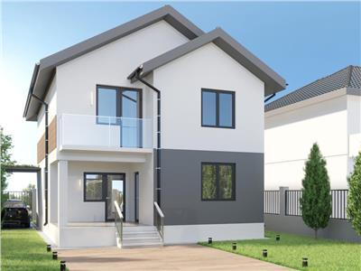 Casa individuala 5 camere-Teren 400mp-STB 185-TVA inclus