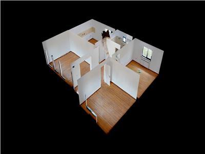Casa noua, 3 camere, pe un singur plan+500 mp. teren!