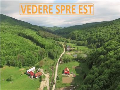 Proprietate frumoasă -n peisaj de poveste, 3143 teren, 30 km de brasov