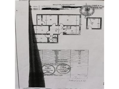 De vanzare apartament cu 4 camere cf 1 dec etaj 3 /4