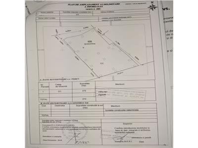 Drumul gazarului,teren 573 mp,deschidere 27 ml,toate utilitatile