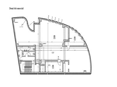 Mosilor spatiu comercial demisol + parter inalt, 400 mp