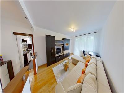 Inchiriez apartament cu 2 camere in Cornisa, strada Argesului