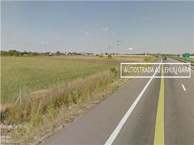 Teren Lahliu Gara  Nod Autostrada Soarelui 27300 mp Industrial