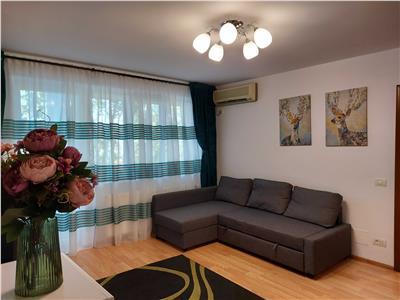 Apartament 3 camere Afi Cotroceni renovat total cu parcare proprie