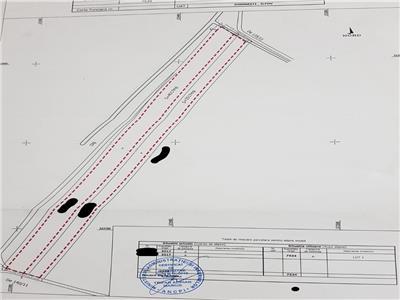 Teren Domnesti zona stadion-drumul Targului 25 m deschidere