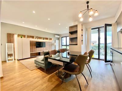 Apartament 3 camere de lux, mobilat utilat, parcare, Albert Ploiesti