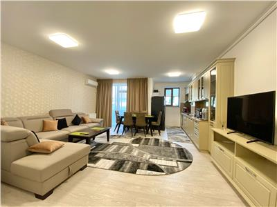 Apartament 3 camere, de lux, mobilat utilat, bloc nou, albert ploiesti