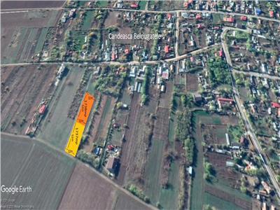 Vand teren Belciugatele sat Candeasca 2 loturi casa de 1738 mp