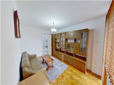 Inchiriez apartament cu 2 camere ultracentral mobilat și utilat
