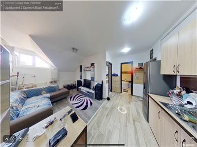 Inchiriere apartament 2 camere Militari Residance Rezervelor 54