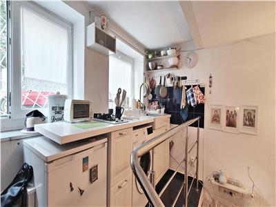 Studio in vila interbelica, mobilat si utilat, str. Scoala Floreasca