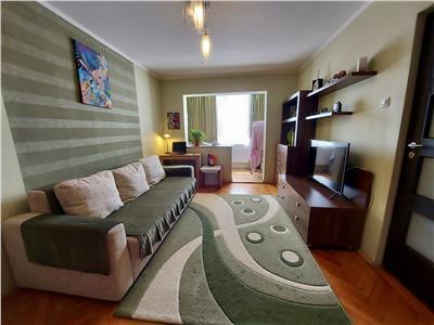 Vanzare apartament cu 2 camere, mobilat si utilat, situat in dambu