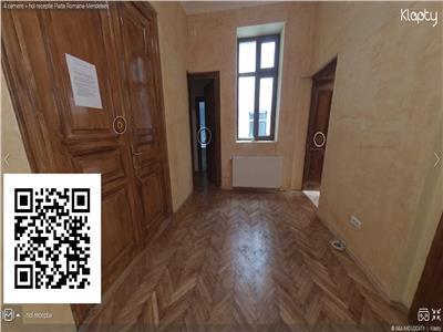 Apartament 4 camere + hol receptie,piata romana-mendeleev